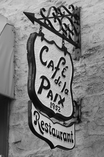 Cafe de la Paix, Quebec.