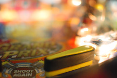 Shoot Again (Studio Neko) Tags: light game color 35mm nikon shoot again flipper d80