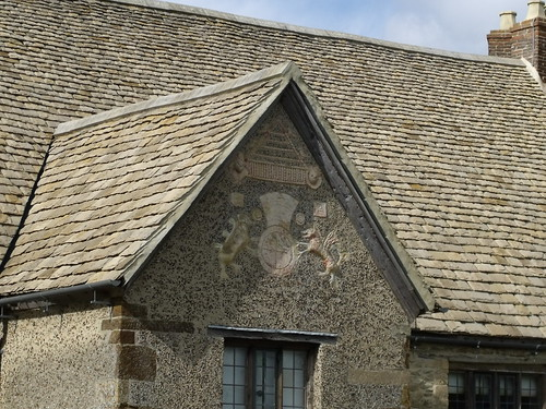 Royal arms - Sulgrave Manor - home of George Washington