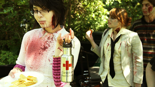 Zombies looooove the Red Cross