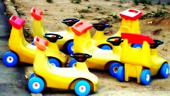 Baby cars. (candido baldacchino) Tags: camera colour cars digital sony cybershot picnik sonycybershot compact dscw130 candidobaldacchino