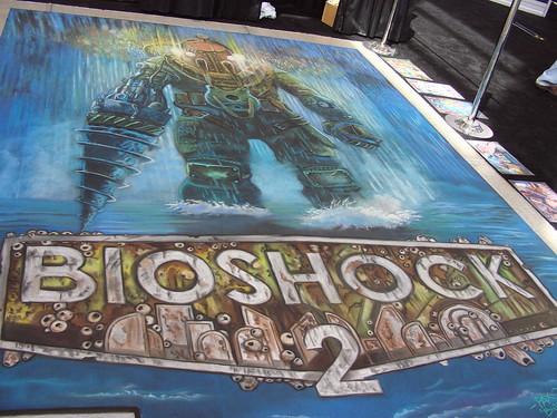 Bioshock 2 Street Art