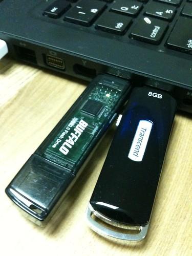 USBメモリのコピー