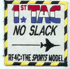 1st TAC (TRS) RF-4C patch (Peter Vonk) Tags: raf alconbury rf4c usafe suqadronpatch 1sttrs