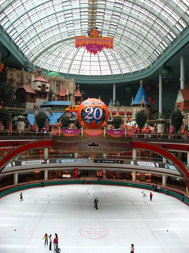 indoor ice skating rink