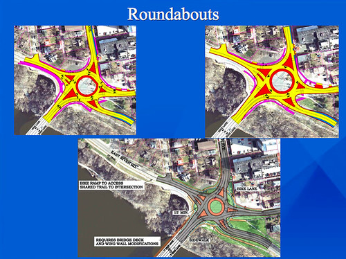 Roundabout Option for Franklin at W River Rd