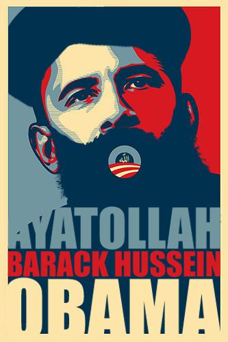 Ayatollah Barack Hussein Obama!