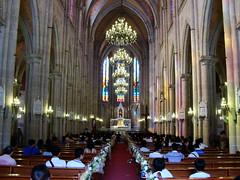 Inner of the Church (Leo ) Tags: guangzhou wedding church architecture catholic inner oldbuilding leozhu
