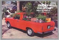Argentine FIAT 125 pickup (Hugo-90) Tags: 125 pickup truck fiat car auto ad advertising brochure catalog multicarga sevel camion caminhoes mirafiori