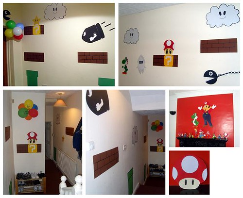 Handmade Super Mario Decorations (2)