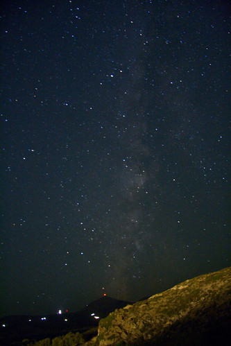 Milky Way over Milos