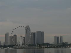 Singapore Skyline (Wilson Loo) Tags: singapore marinabay marinabarrage singaporeflyer
