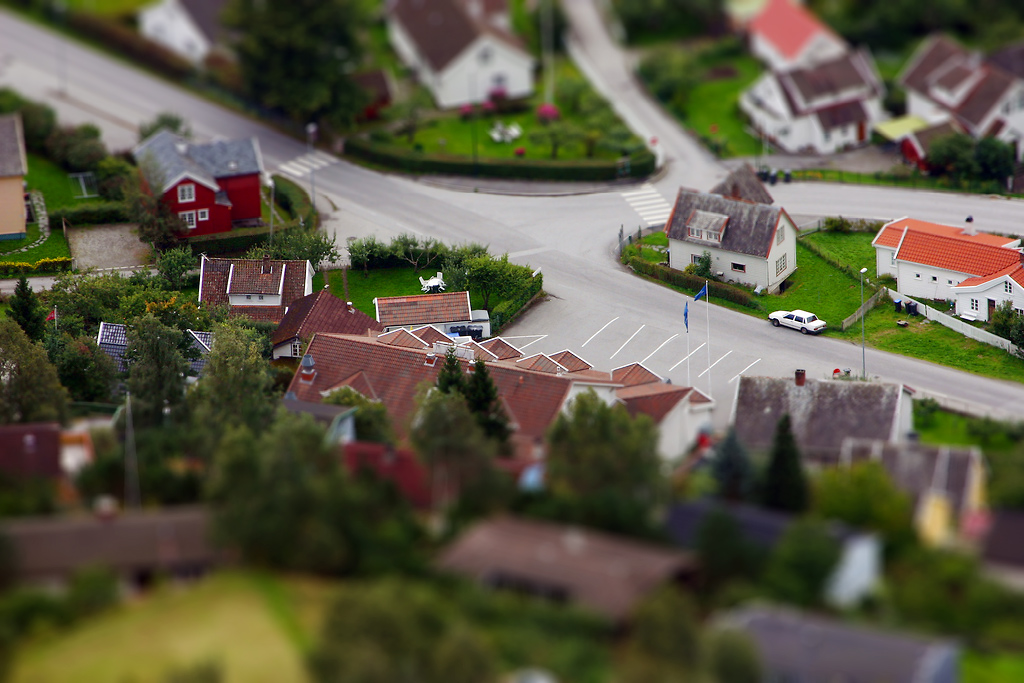 Faux Tilt Shift