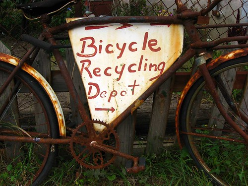 Bicycle Recycling and Reuse