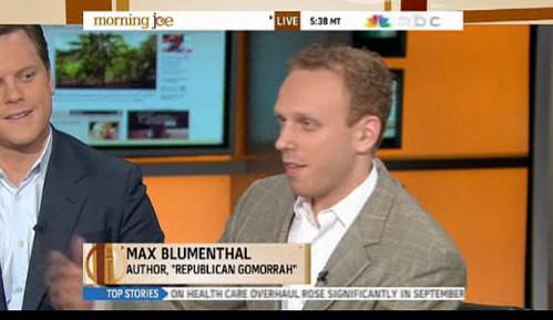 (VIDEO) Joe Scarborough Exposes Max Blumenthal's Radical Partisanship