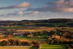 Knowle Hill, Dorset (David Crosbie) Tags: autumn eveningsun kingston dorset vistas cloudscapes corfecastle knowlehill kingstonchurch