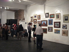 Braddock PA: Obscurae Art Lottery '09 (KatrencikPhotoArchives) Tags: gallery pittsburgh pa photographs 2009 braddock katrencik obscurae artlottery09 unsmokesystemsartspace
