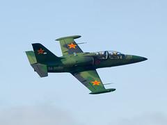 Aero Albatros L-39C LECO RA-3555K (joseluismaquieira) Tags: flying spain coruña small jet militar albatros aero leco culleredo coru l39c corua ra3555k