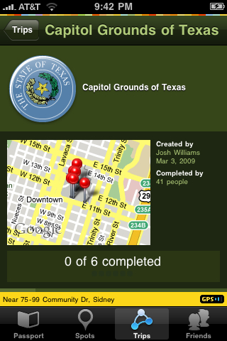 Tour the Texas Capitol with Gowalla