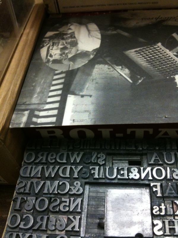 type at the press at Colorado College