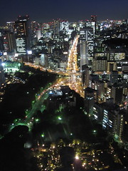 Tokyo Tower /  () Tags: city sunset vacation holiday tower japan island tokyo twilight dusk highrise  tokyotower nippon  isle rtw japon nihon edo kanto vacanze roundtheworld globetrotter japn honshu  tky  worldtraveler 22days landoftherisingsun  nihonkoku nipponkoku tkyto   tokyometropolis    tkei