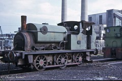 Hudswell Clarke 1674 CEGB Cambois 19 26 Sept 1964 (pondhopper1) Tags: industrial steam railways uksteam 060st hudswellclarke