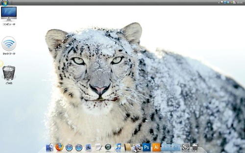Vista Snow Leopard