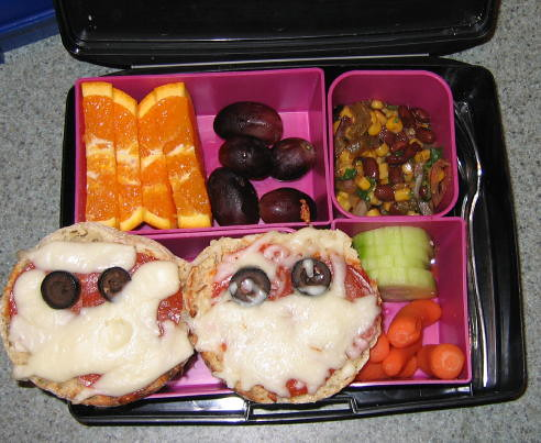 Bento box lunch 10-29-09