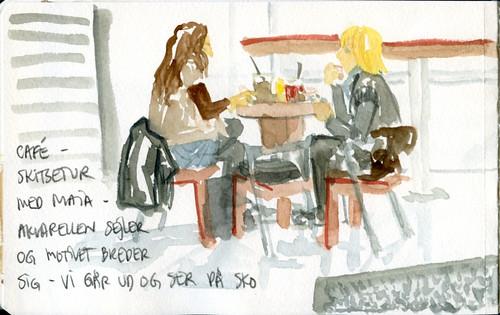kaffebar, detail left