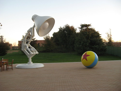 pixar lamp. Iconic PIXAR lamp amp; ball