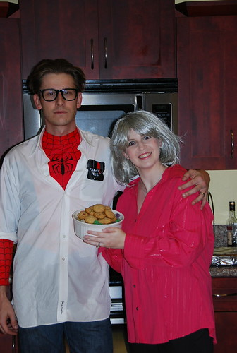 Peter Parker and Paula Deen