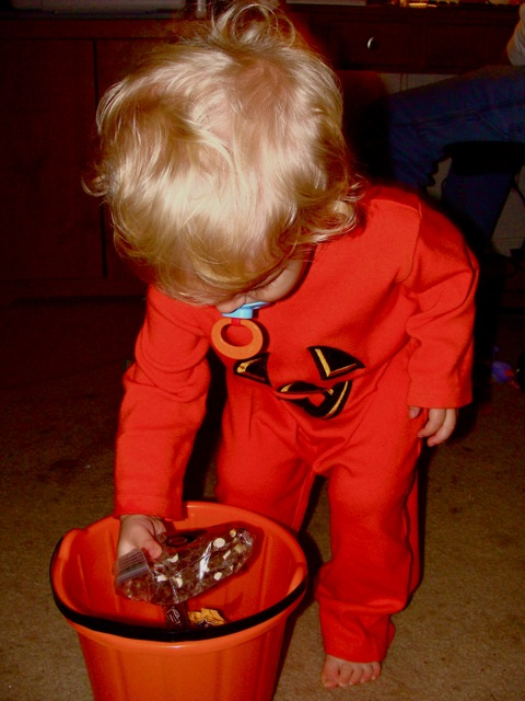 My First Trick-or-Treat
