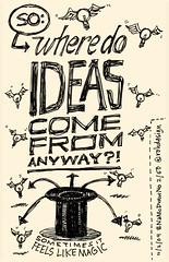 NaNoDrawMo 2009 - 2/50 - Ideas