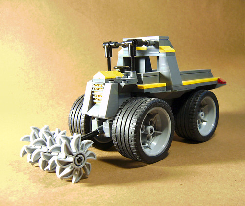 Mining Tractor