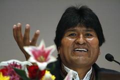 President of Bolivia Addresses Indigenous Foru...