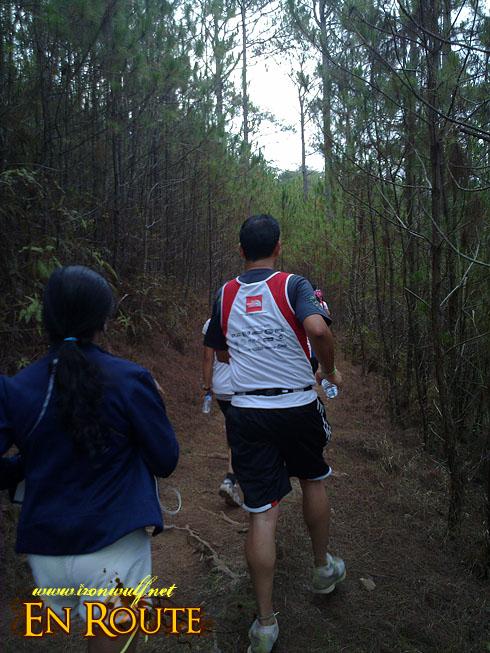 TNF 100 Trail Run 11k at Camp John Hay