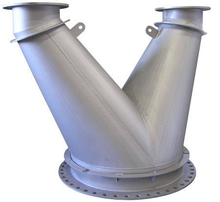 Exhaust Manifold that will be used with an Electric Generating System