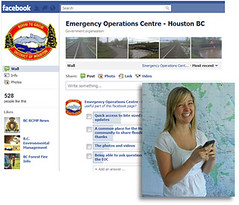 Using social media for emergency response
