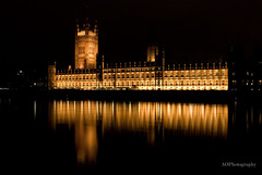 Parliment At Night (andrewodellphotography) Tags: uk longexposure england london night reflections nikon tripod royal bigben nighttime labour conservative parliment riverthames cityoflondon goverment thequeen royalfamily libdems d80 thehousesofparliment nikond80 andrewodellphotography