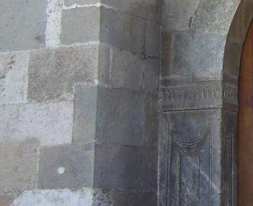 Konya, Mosquée d'Alaeddin, côté Nord, 3e prote, détail