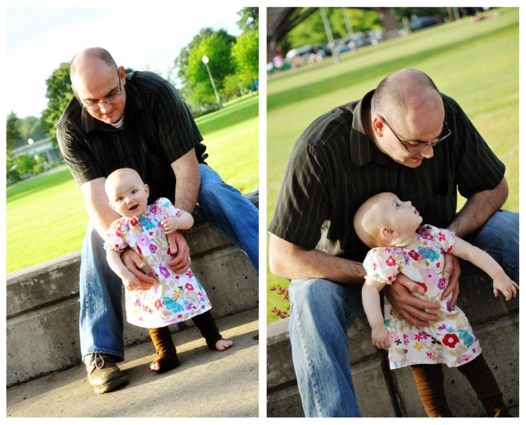 Lola and Daddy @ Park