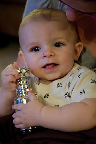 Christian with the Cup