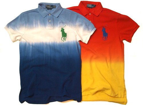 Ralph Lauren / Custom-Fit Dip-Dyed Polo