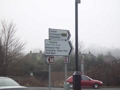 Surrey roadsign