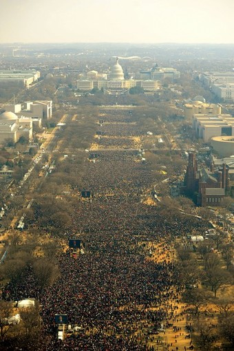 Obama Inauguration and the National Mall