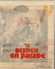 Disney On Parade - 1973 Souvenir Program - overlay
