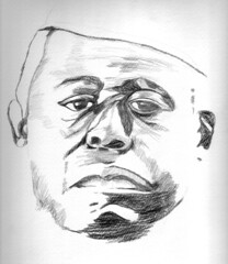 sketch (kozoo_arts) Tags: pencil movie sketch forestwhitaker lastkingofscotland