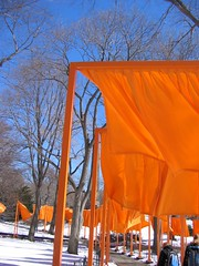 IMG_0025 (DutchAstrid) Tags: new york nyc newyorkcity orange newyork art gates centralpark saffron christo gatesmemory