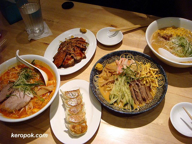 Dinner for 3 at Noodle House Ken