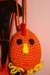 pulcino di pasqua arancione (uncinetto_patrizia) Tags: e di pasqua uova pulcini alluncinetto